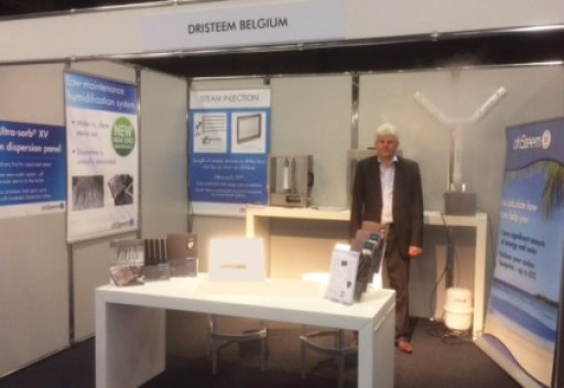 DriSteem Exhibits at VTDV (The Association for Technical Services  of Care Centers) Conference in Belgium
